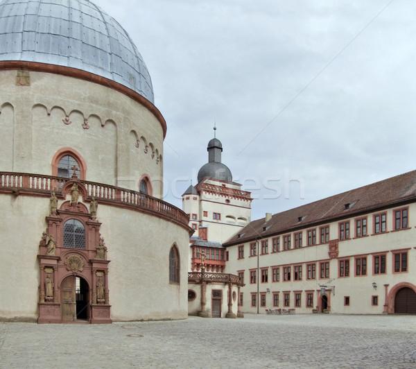 Fortress Marienberg Stock photo © prill