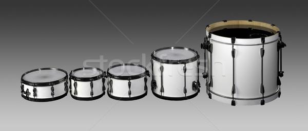 Drum set Stock photo © prill