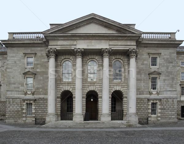 Történelmi épületek Dublin épület város Írország Stock fotó © prill