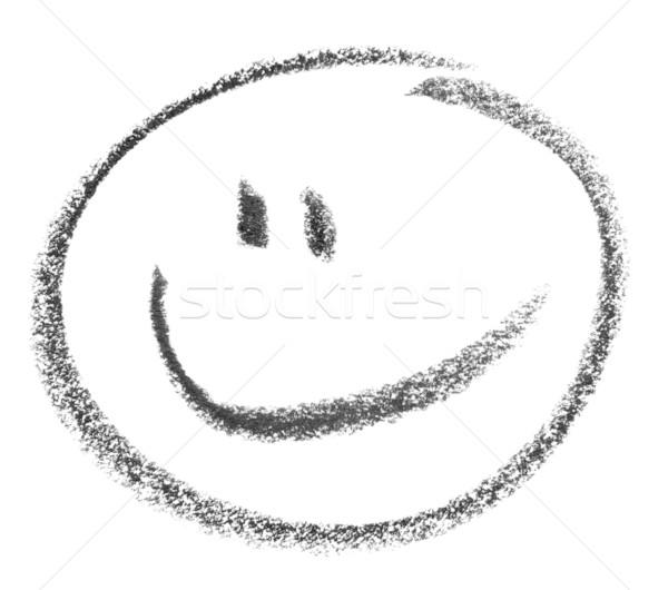 smiley sketch Stock photo © prill