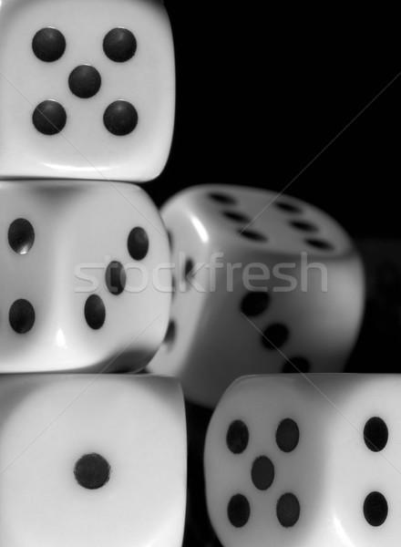 dice background Stock photo © prill