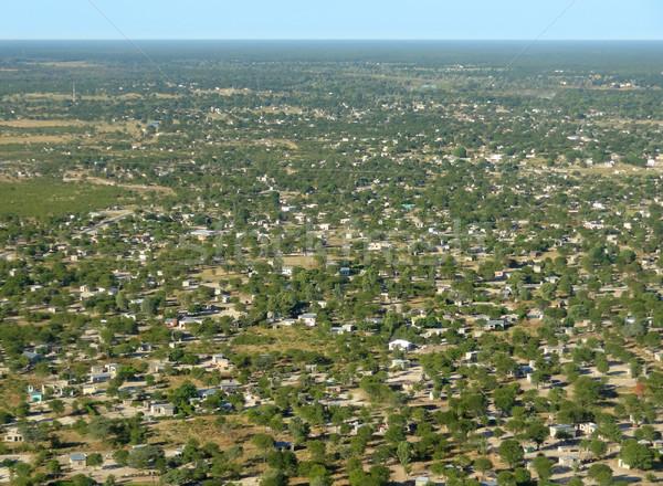Maun in Botswana Stock photo © prill