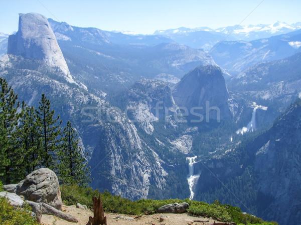 ストックフォト: ヨセミテ国立公園 · 表示 · 滝 · カリフォルニア · 米国