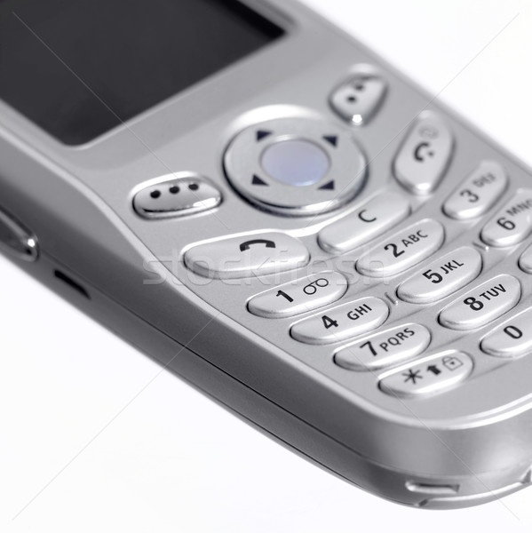 metallic mobile phone detail Stock photo © prill