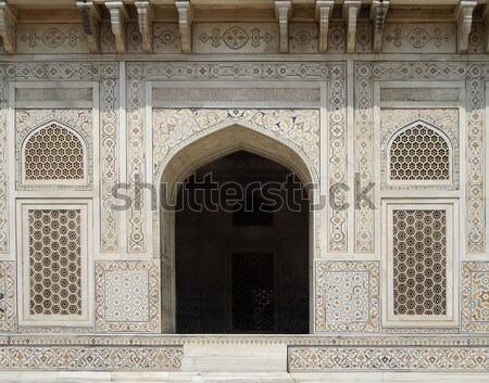 Itmad-Ud-Daulahs Tomb in Agra Stock photo © prill