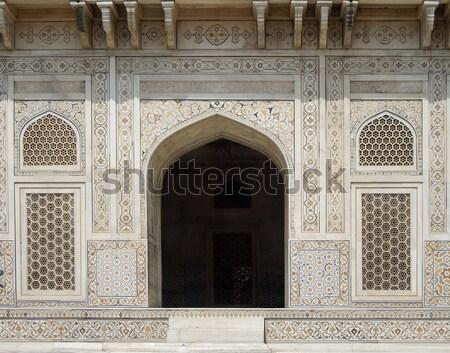 могилы подробность исторический здании дома двери Сток-фото © prill