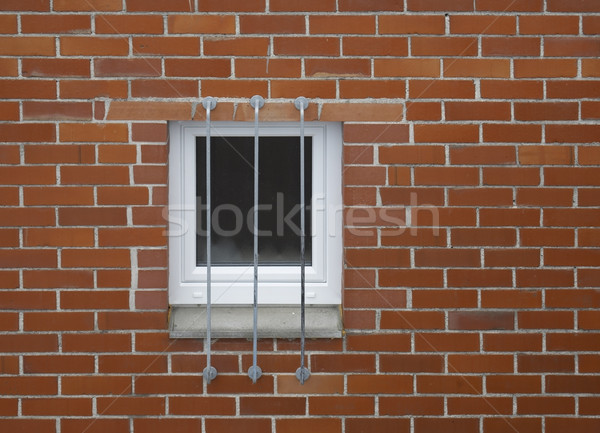brick wall and window Stock photo © prill