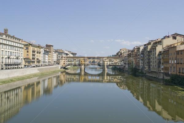 Ponte Vecchio Stock photo © prill