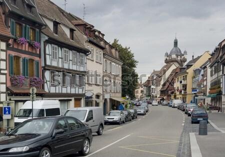 Città vecchia casa città strada Foto d'archivio © prill