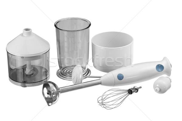 hand mixer set Stock photo © prill