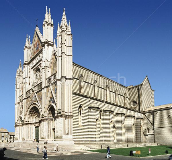 Orvieto Cathedral Stock photo © prill