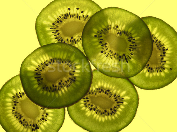 sliced Kiwifruit Stock photo © prill