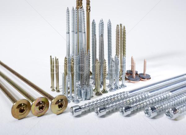 lots of screws Stock photo © prill