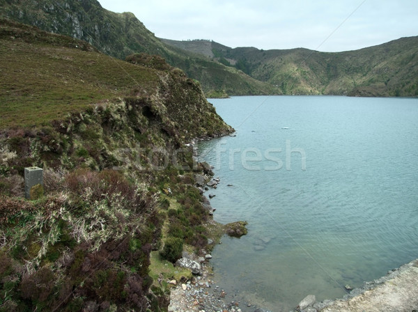 idyllic waterside scenery Stock photo © prill