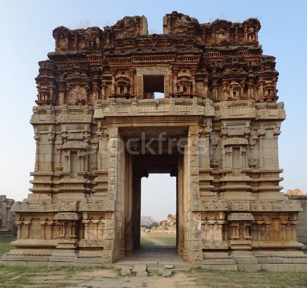 храма город юг Запад Индия здании Сток-фото © prill