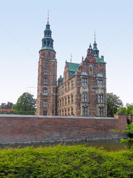 замок Копенгаген город Дания Cityscape города Сток-фото © prill