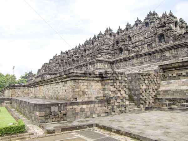 Borobudur in Java Stock photo © prill