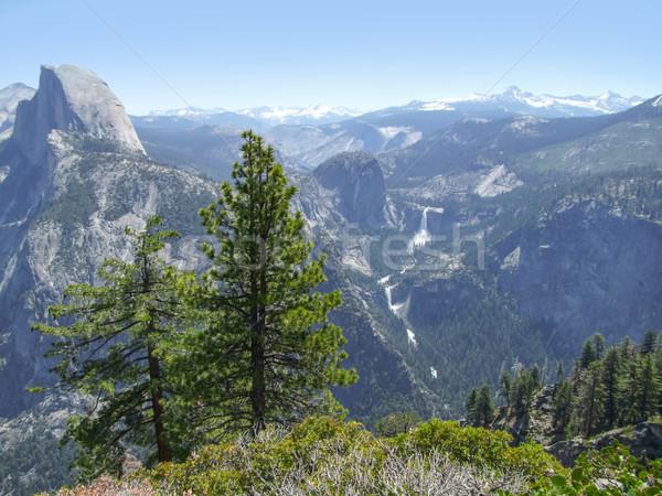 Yosemite national park panoramisch waterval Californië USA Stockfoto © prill