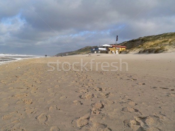 beach scenery in Northern Germany Stock photo © prill