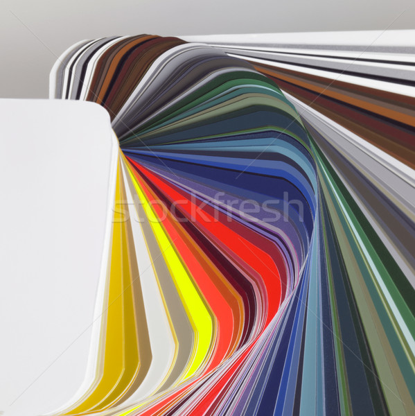 abstract color chart Stock photo © prill