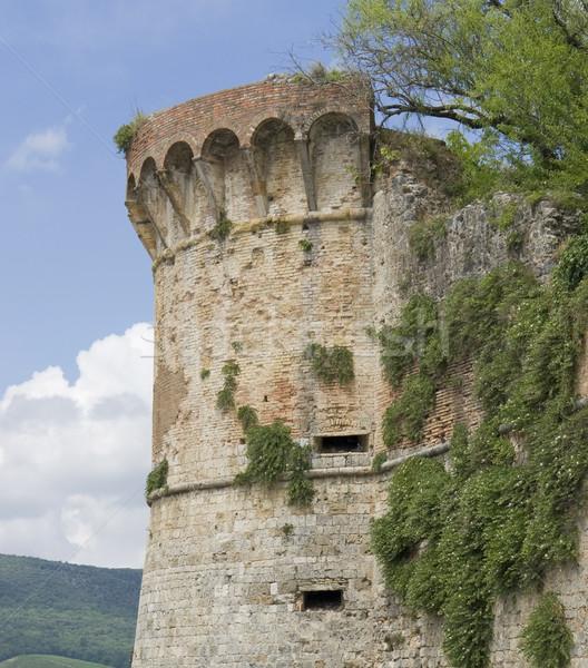 San Gimignano city wall Stock photo © prill