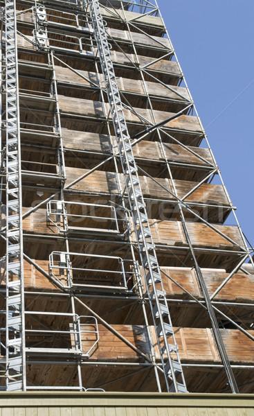 scaffold Stock photo © prill