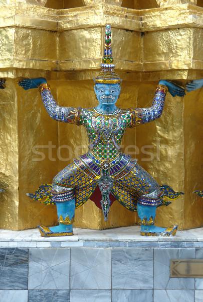 дворец скульптуры Бангкок Таиланд здании путешествия Сток-фото © prill