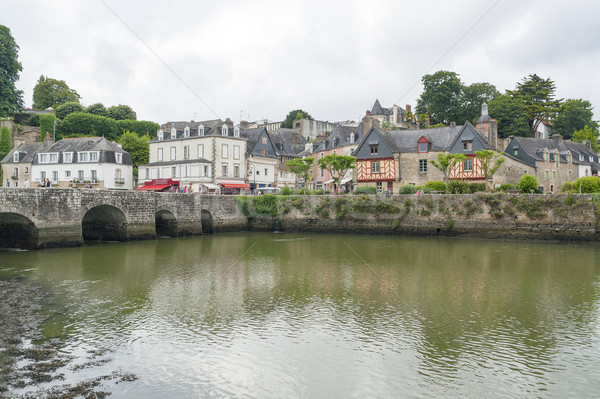 Auray in Brittany Stock photo © prill