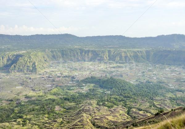 Endonezya manzara etrafında volkan bali kaya Stok fotoğraf © prill