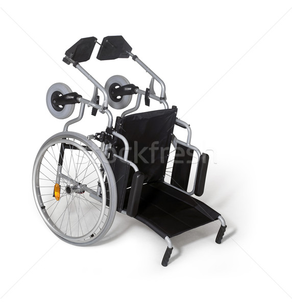 toppled down wheelchair Stock photo © prill