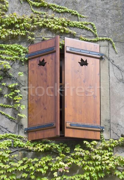 wooden window shutter Stock photo © prill