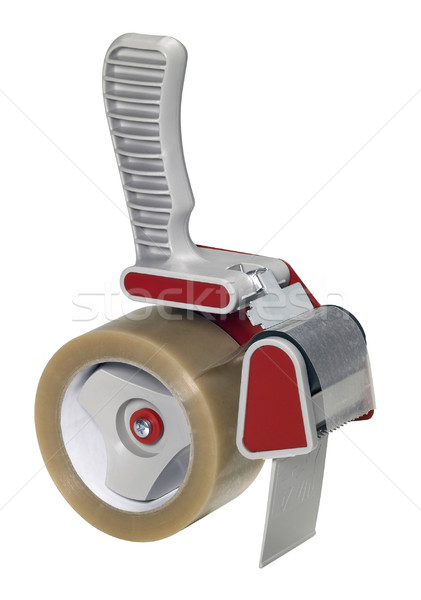 adhesive tape roller isolated on white Stock photo © prill