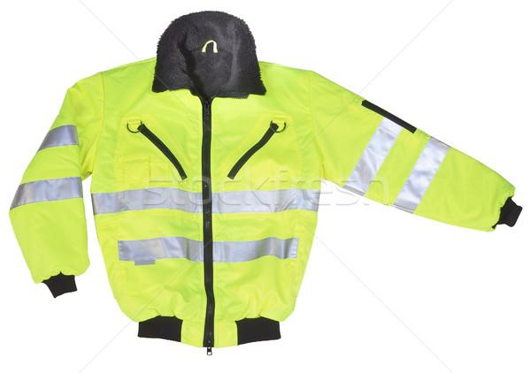 yellow neon coat Stock photo © prill
