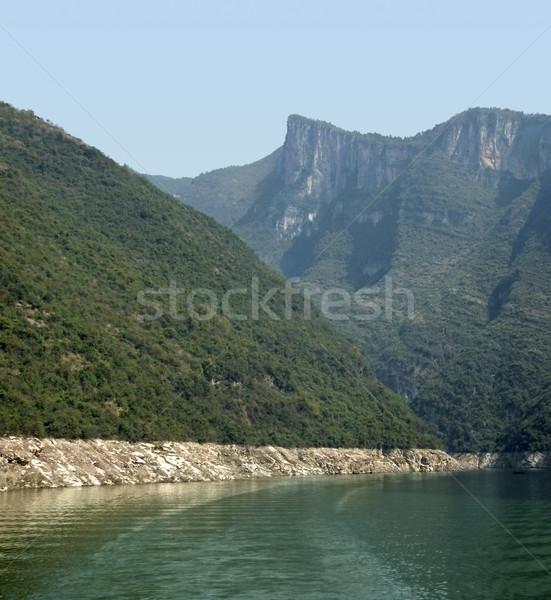 River Shennong Xi in China Stock photo © prill