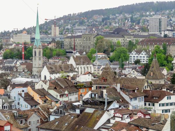 Zürich Zwitserland stad Stockfoto © prill