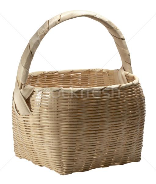 light brown basket Stock photo © prill