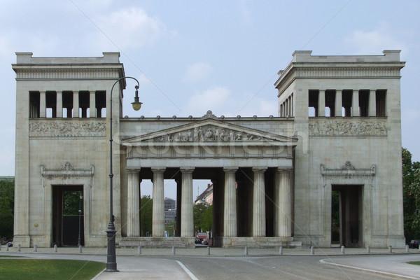 Propylaeum in Munich Stock photo © prill