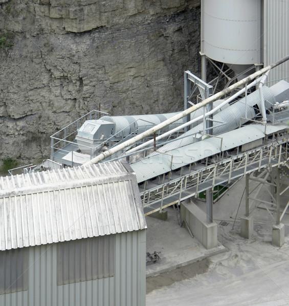 gravel mill detail Stock photo © prill