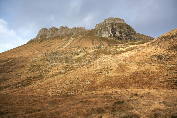 brown overgrown hills near Stac Pollaidh Stock photo © prill