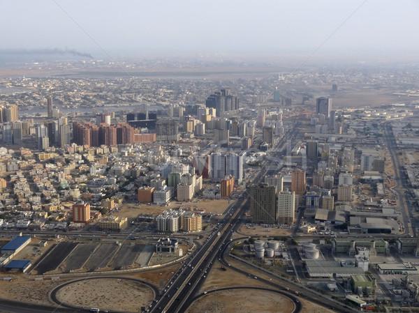Dubai aerial view Stock photo © prill