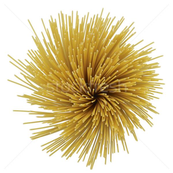 radial spaghetti Stock photo © prill