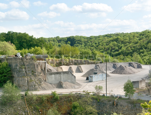 gravel quarry Stock photo © prill