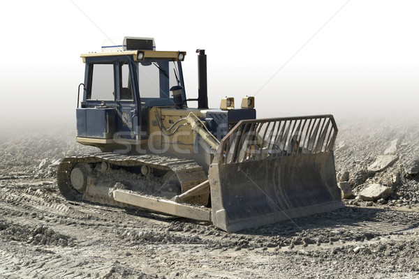 crawler in a stone pit Stock photo © prill