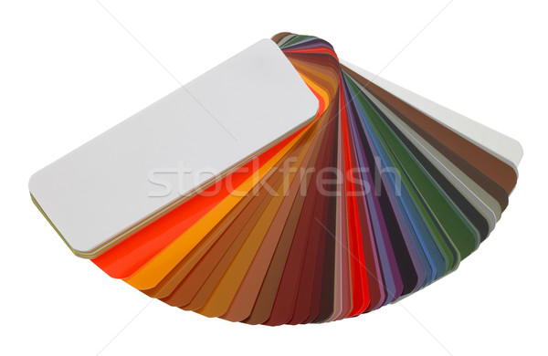spread color chart Stock photo © prill