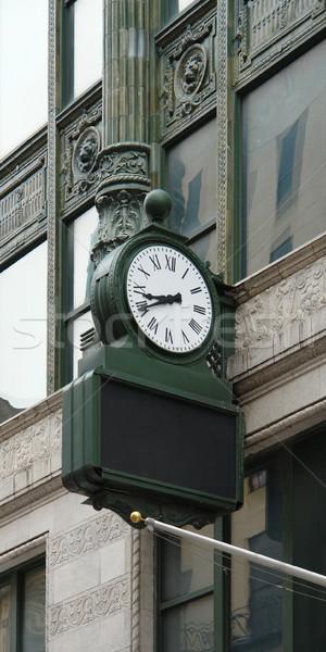 Nostalgisch klok Boston huis Massachusetts Stockfoto © prill