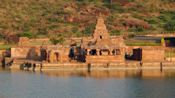 the Bhutanatha Temple near Badami Stock photo © prill