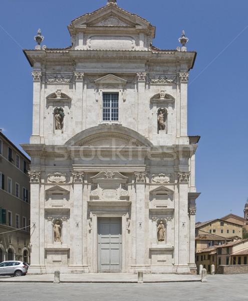 Италия впечатление город Тоскана дома архитектура Сток-фото © prill