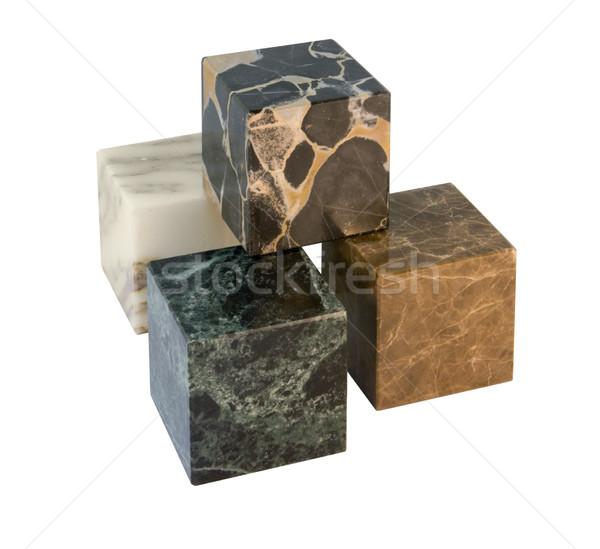 stone cubes Stock photo © prill