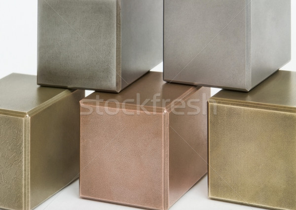 metallic cubes Stock photo © prill