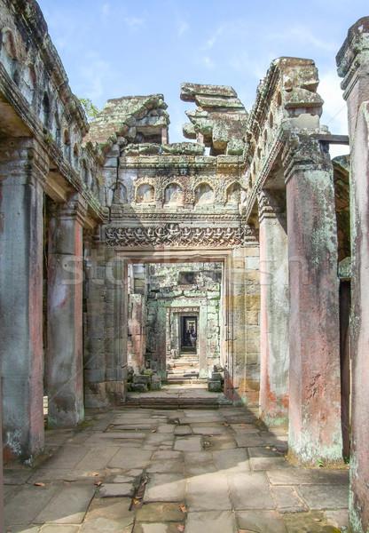 Preah Khan in Angkor Stock photo © prill